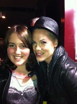 Pink and Tessa McClintock