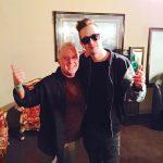 Steve with international DJ Robin Schulz