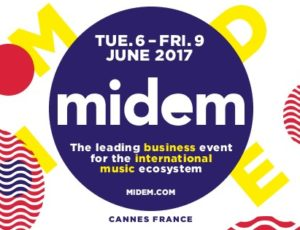 McJames Music at Midem, Cannes France